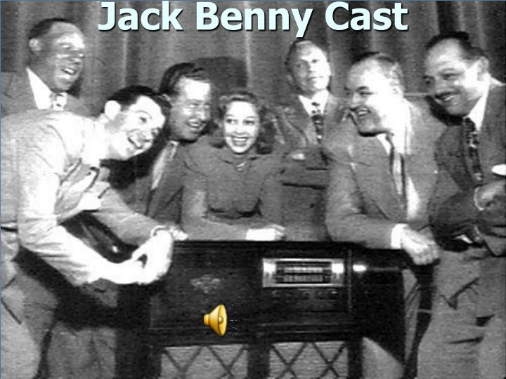 Jack Benny Cast