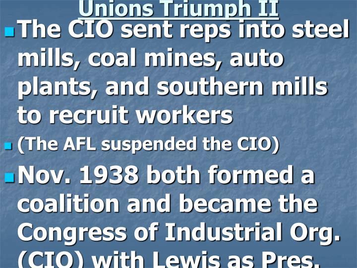 Unions Triumph II