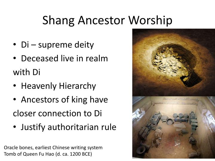 Shang Ancestor Worship