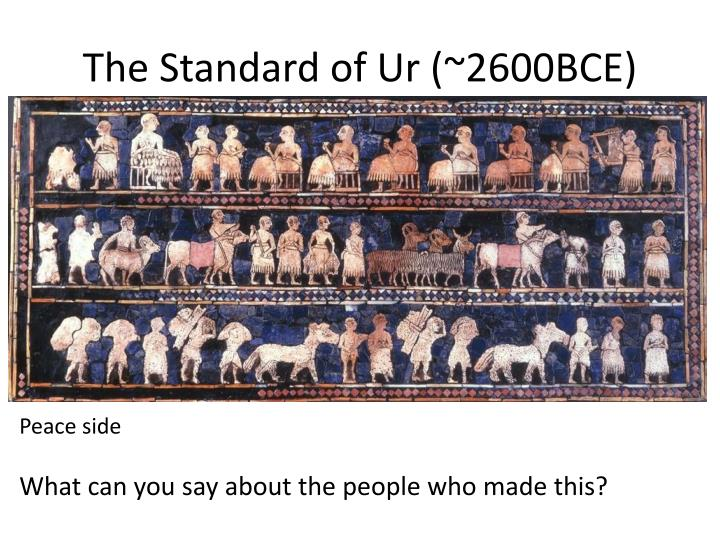 The Standard of Ur (~2600BCE)