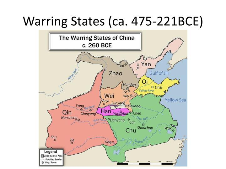 Warring States (ca. 475-221BCE)