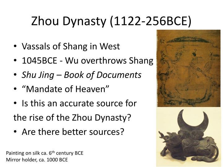 Zhou Dynasty (1122-256BCE)
