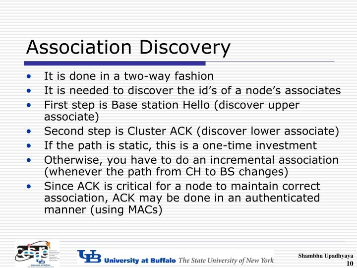 Association Discovery