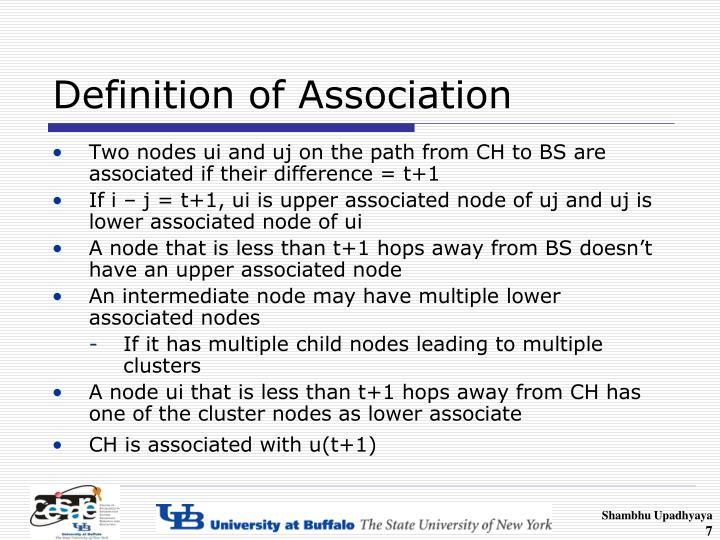 Definition of Association