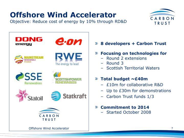 Offshore Wind Accelerator