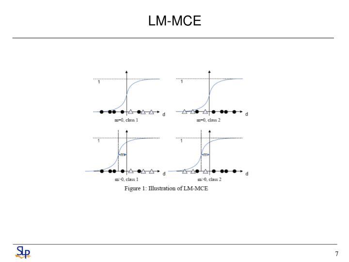 LM-MCE