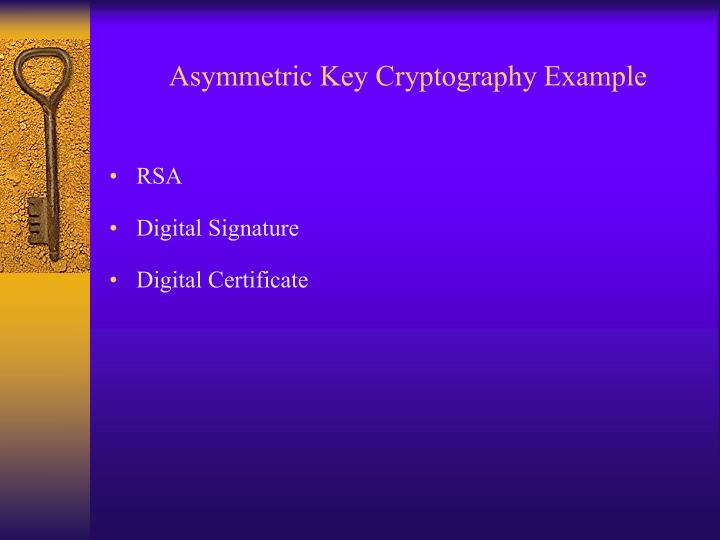 asymmetric cryptography what does a digital The sequence shows how public key cryptography makes digital signatures and message encryption possible note how the public key or the private key of one party is required by the other party based on the specific operation.