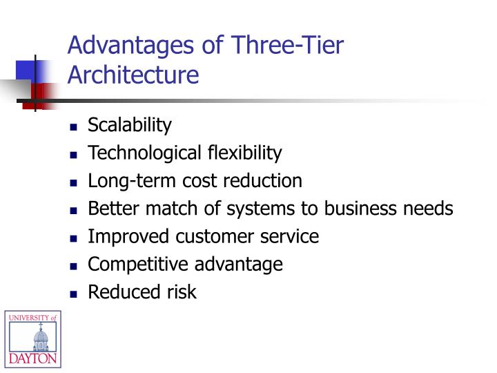 Advantages of Three-Tier Architecture