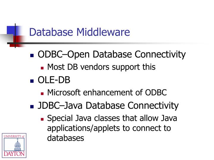Database Middleware