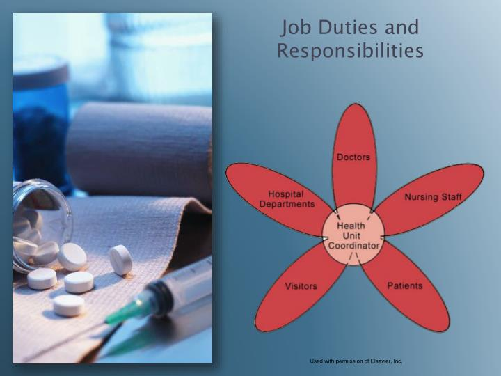 Job Duties and Responsibilities