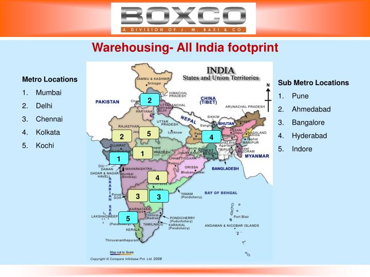 Warehousing- All India footprint