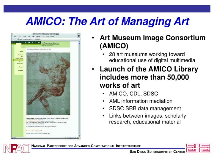 AMICO: The Art of Managing Art
