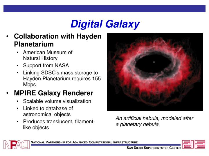 Collaboration with Hayden Planetarium
