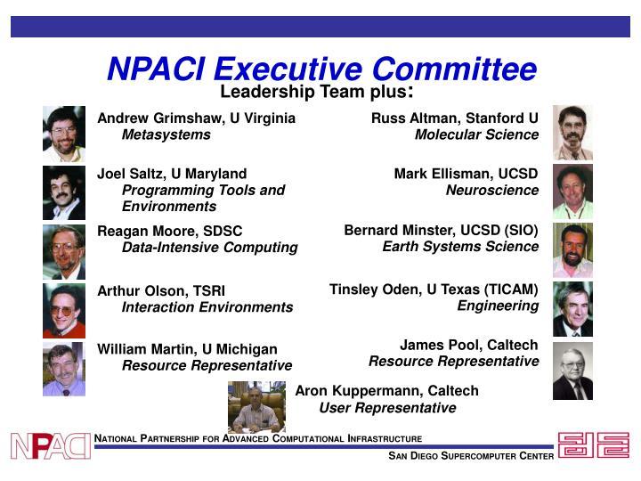 NPACI Executive Committee