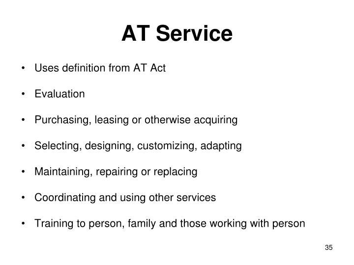 AT Service