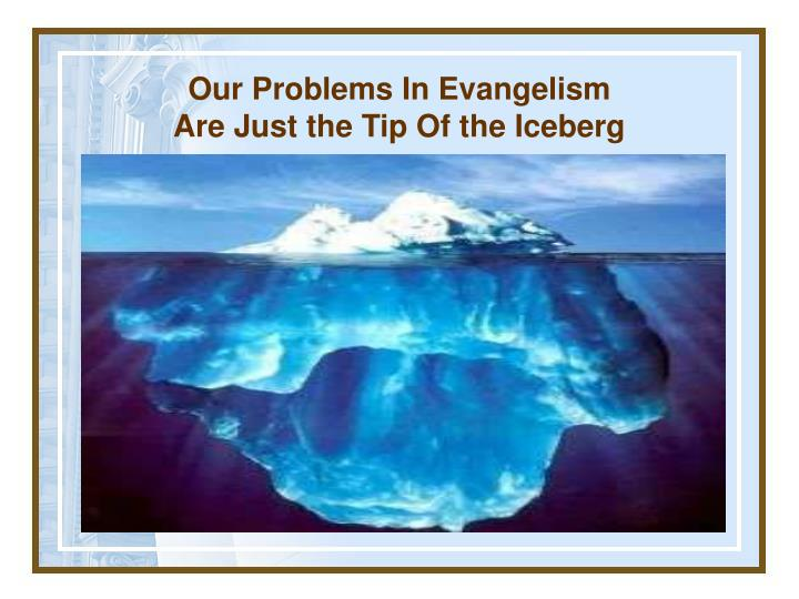 Our Problems In Evangelism