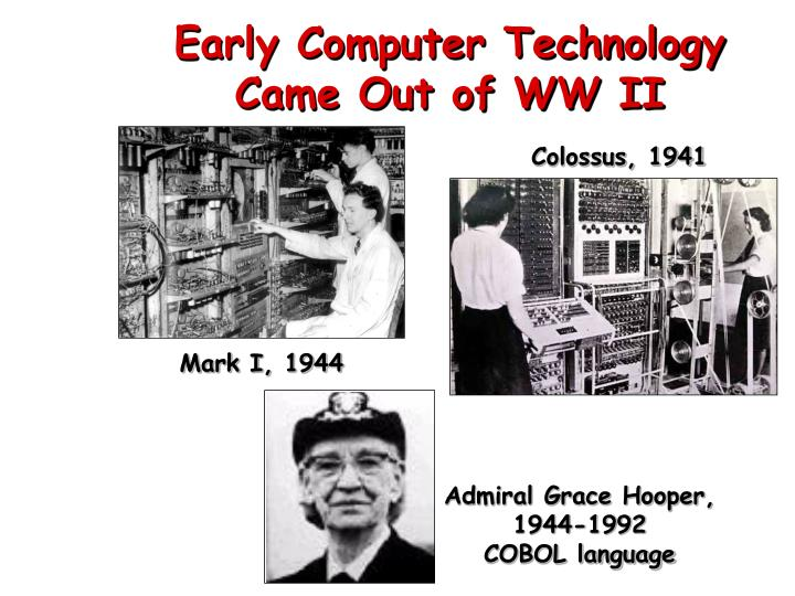 Early Computer Technology
