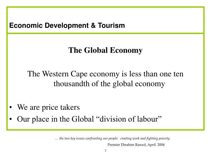 Economic Development & Tourism