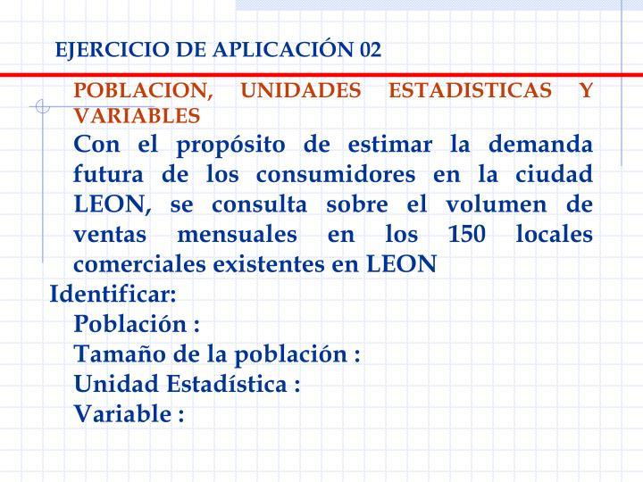EJERCICIO DE APLICACIÓN 02