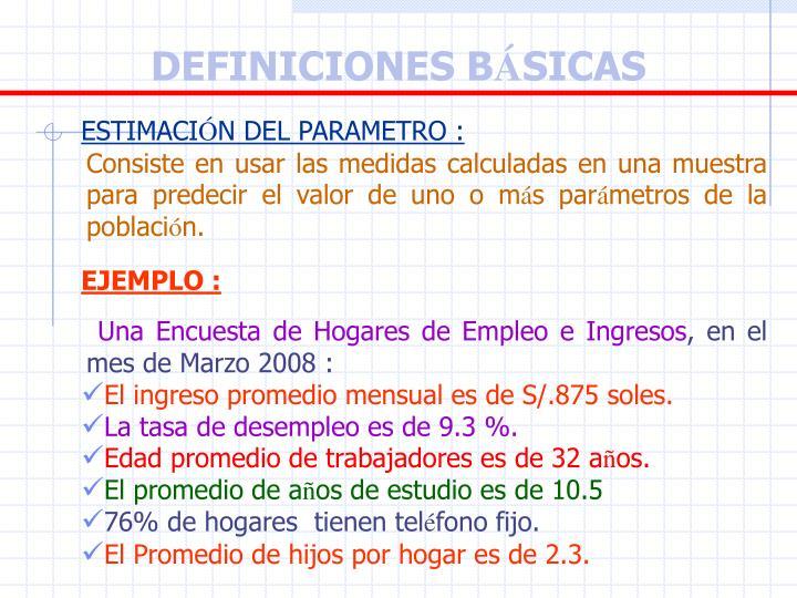 DEFINICIONES B