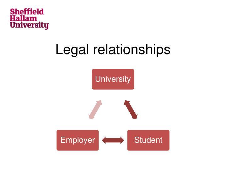 Legal relationships