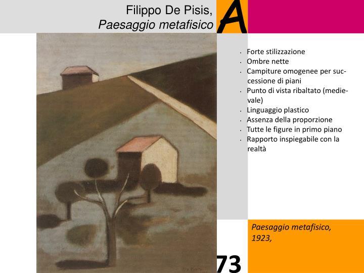 Filippo De Pisis,