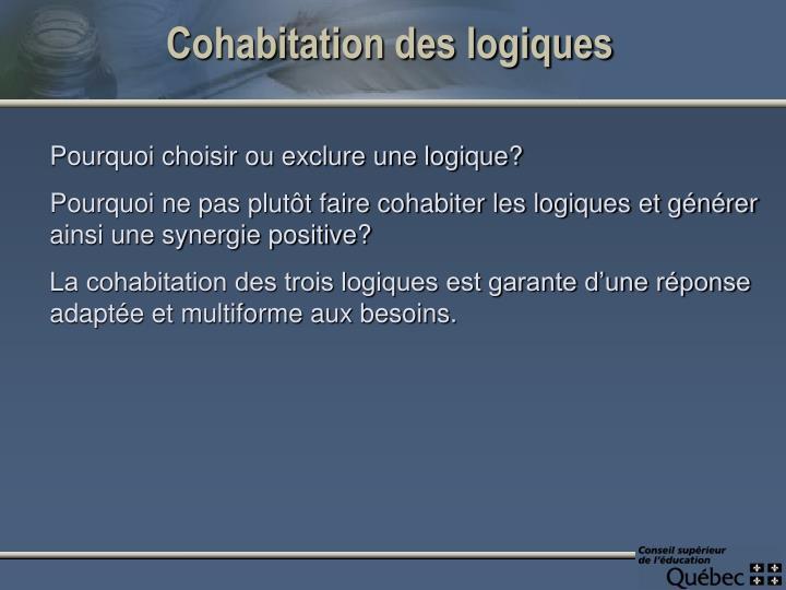 Cohabitation des logiques