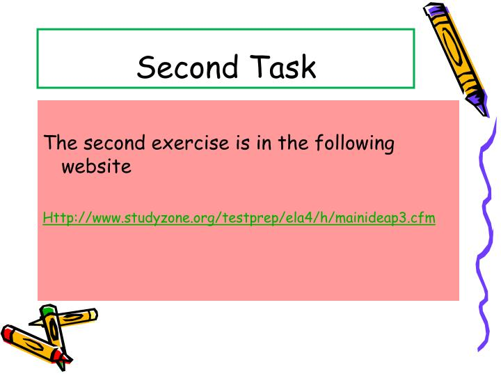 Second Task