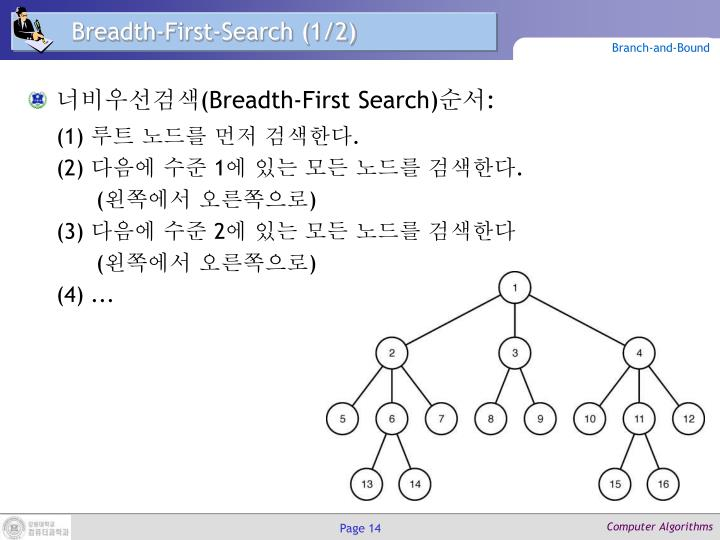 Breadth-First-Search (1/2)
