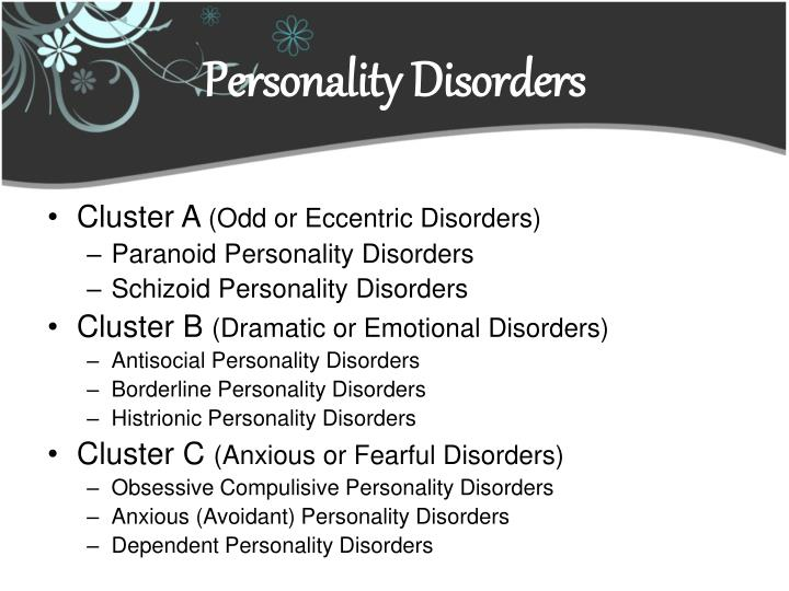conditions paranoid personality disorder