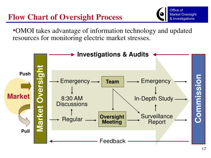 Flow Chart of Oversight Process
