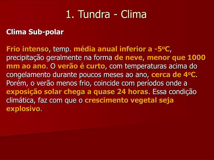 Clima Sub-polar
