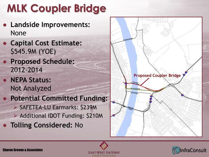 MLK Coupler Bridge