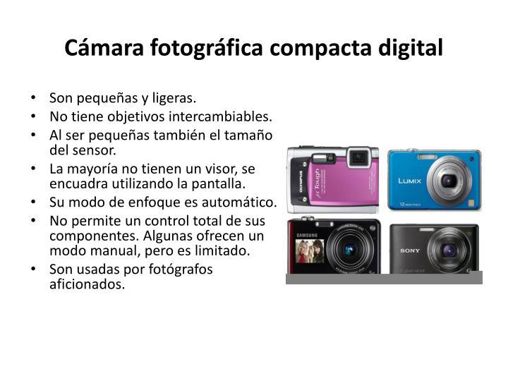 Cámara fotográfica compacta digital
