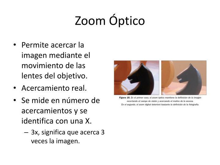 Zoom Óptico