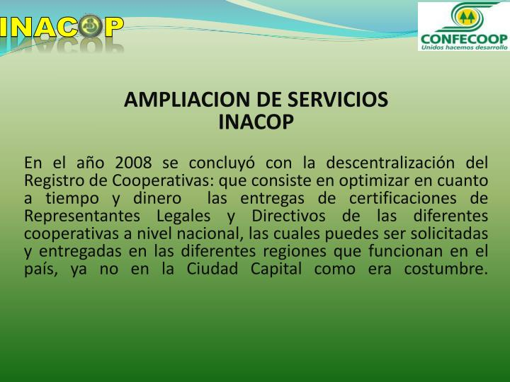 INACOP