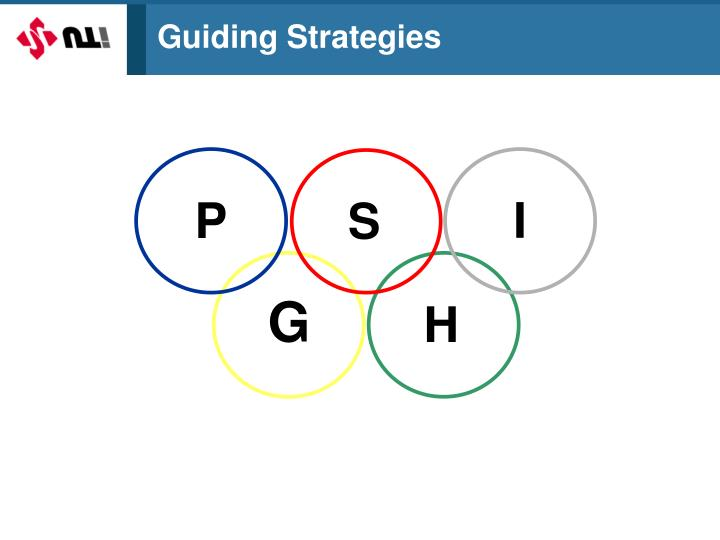 Guiding Strategies