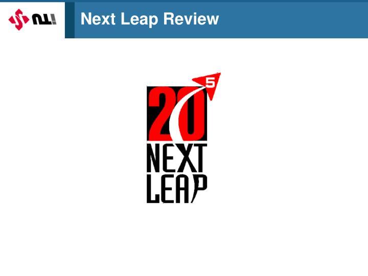 Next Leap Review