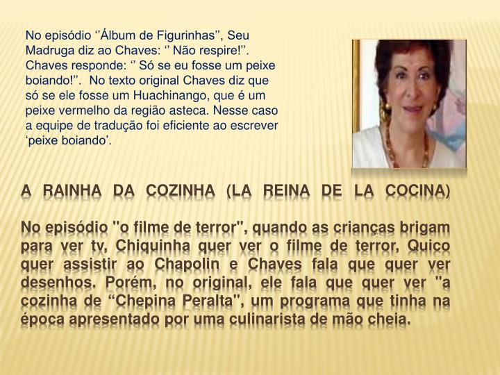 A rainha da Cozinha (LA REINA DE LA COCINA)