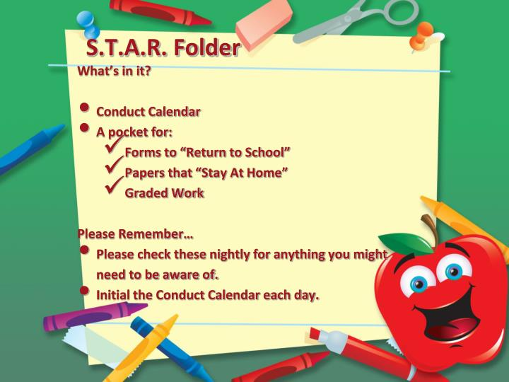 S.T.A.R. Folder
