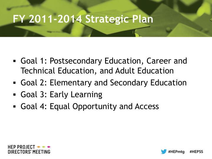 FY 2011-2014 Strategic Plan