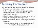 mercury commerce