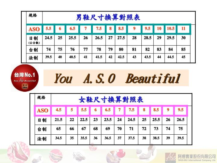 You  A.S.O  Beautiful