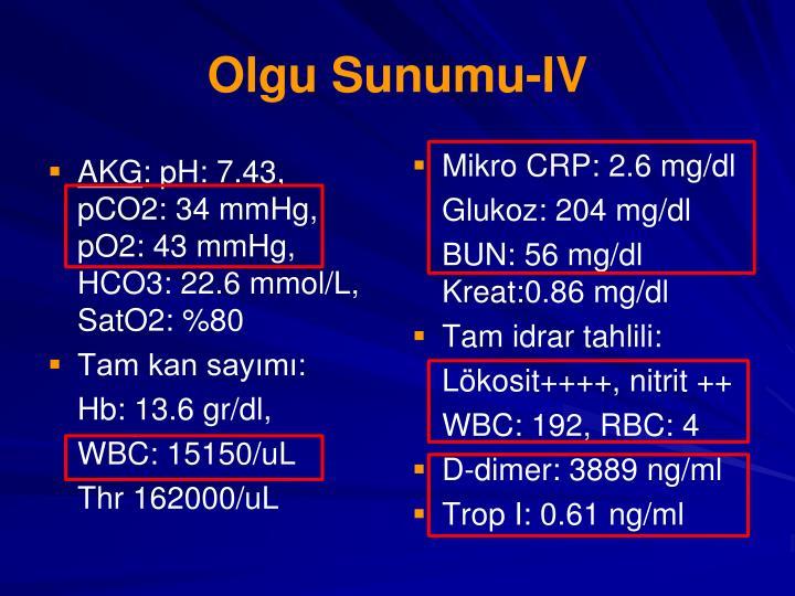 Olgu Sunumu-IV