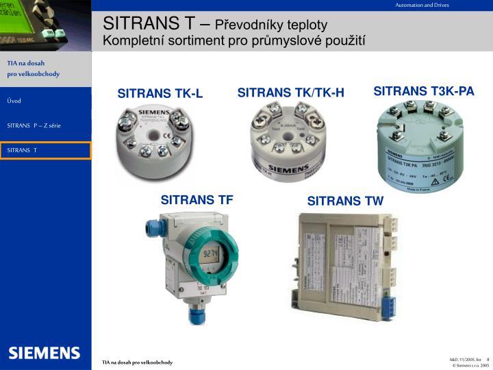 SITRANS TK-L