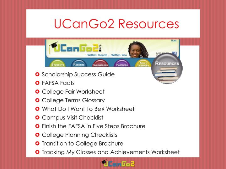 UCanGo2 Resources