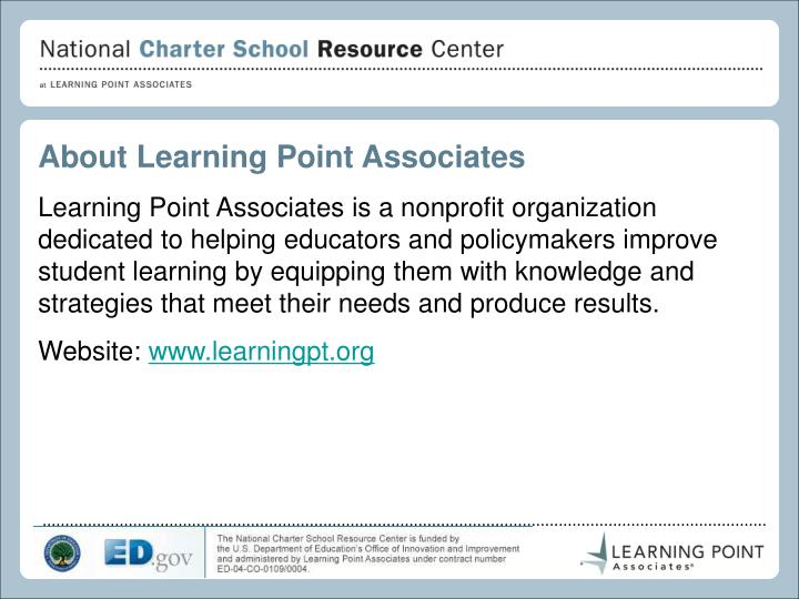 About Learning Point Associates