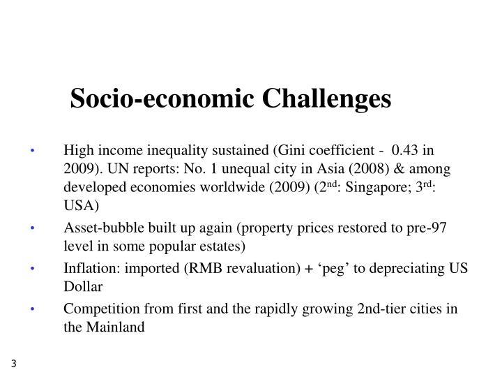 Socio-economic Challenges