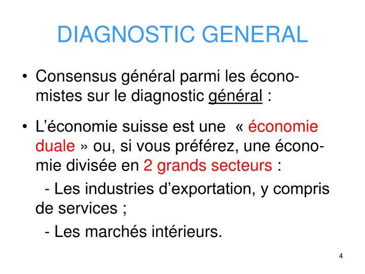 DIAGNOSTIC GENERAL
