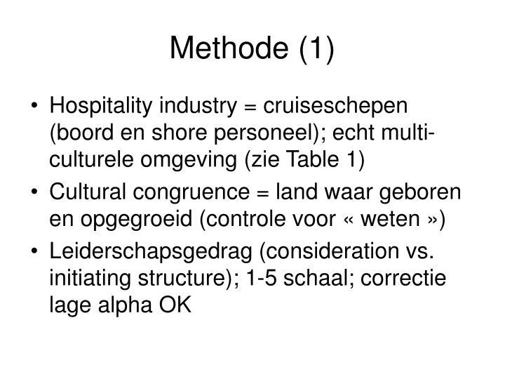 Methode (1)